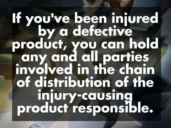 The Three Major Types of Product Liability Claims