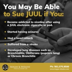 how to join the juul lawsuit infographic