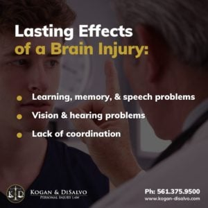 lasting effects of brain injury diagram