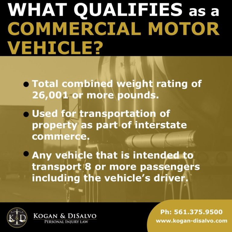 commercial motor vehicle on florida highway what is a commercial vehicle