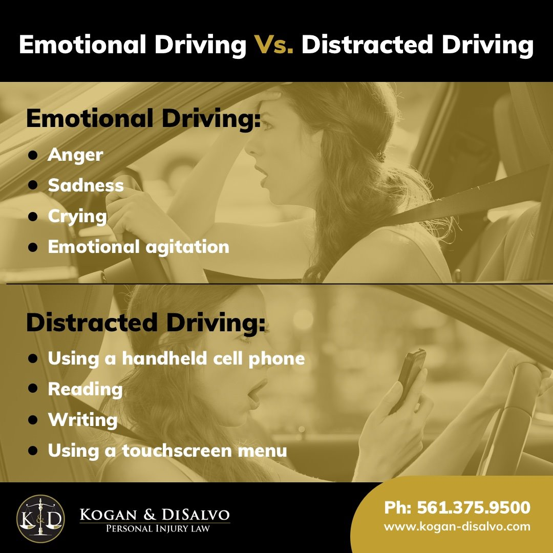 emotional driving person in car distracted driving female in car