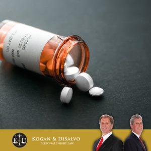 medical pills drugs on table with lawyer