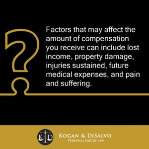 what type of compensation you can get for car accidents